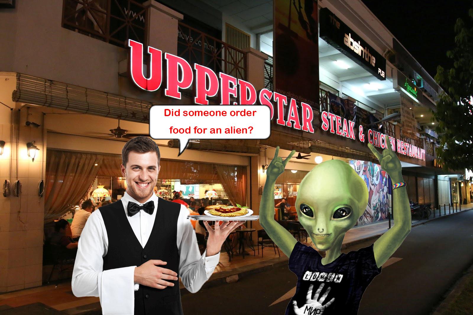 "Restaurant Calls Woman ""Alien"" For A Vegetarian Order"