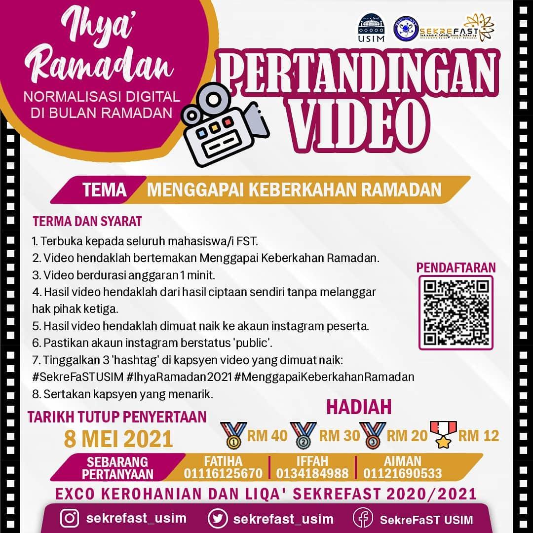 Pertandingan Video Ihya' Ramadan
