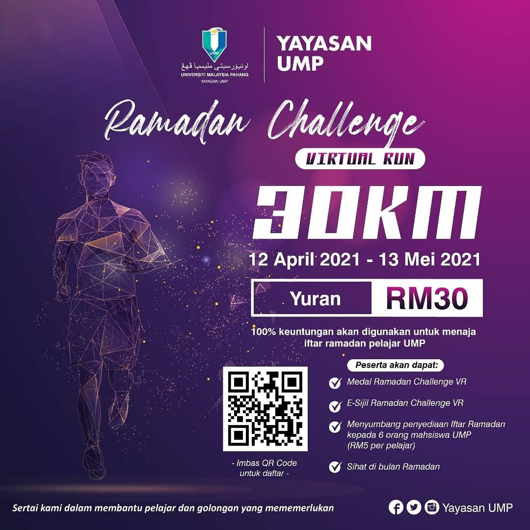 Virtual Run - Ramadan Challenge