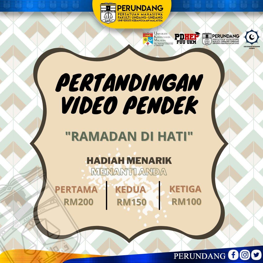 """Pertandingan Video Pendek """"Ramadan di Hati"""""""