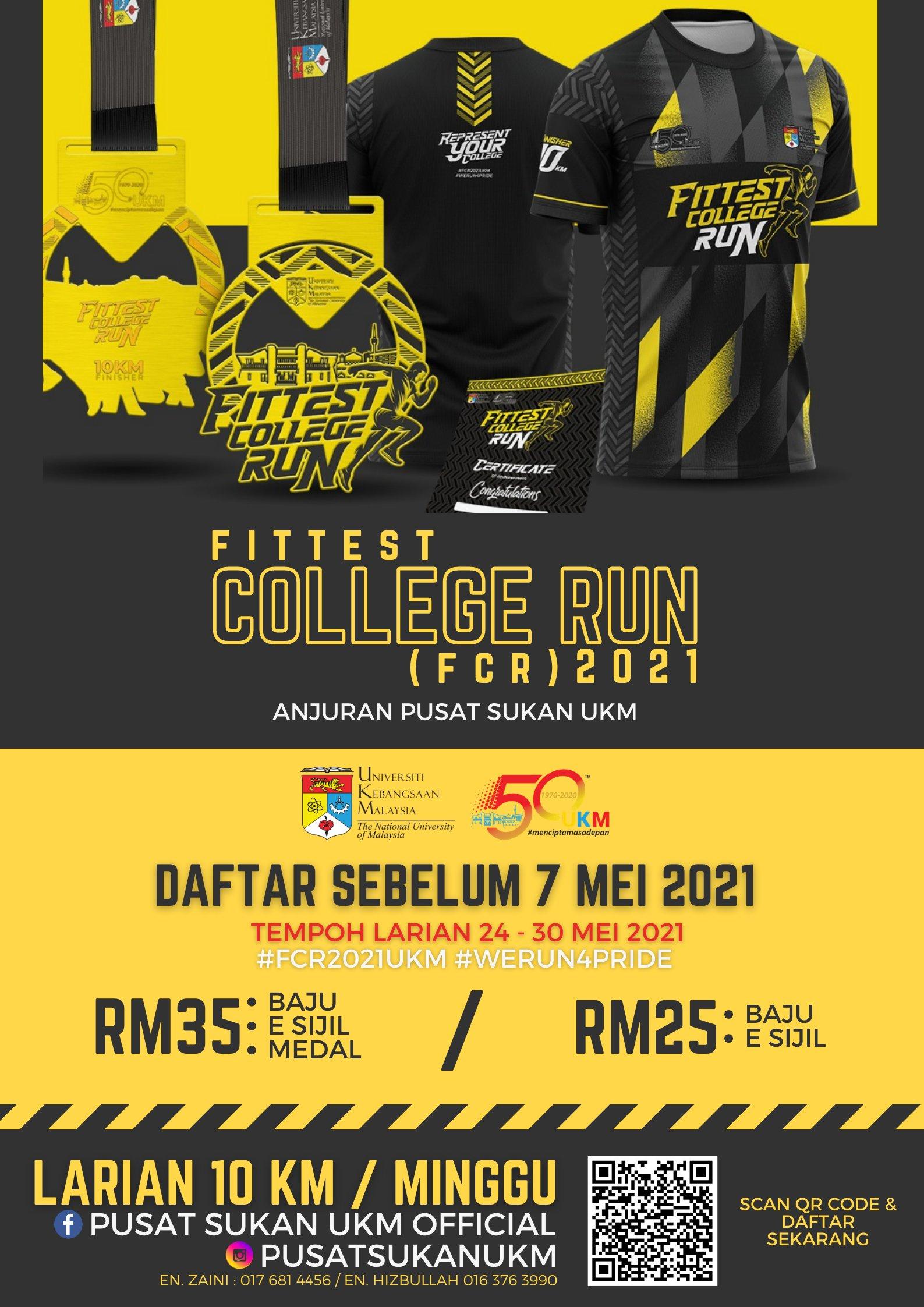 Fittest College Run 2021