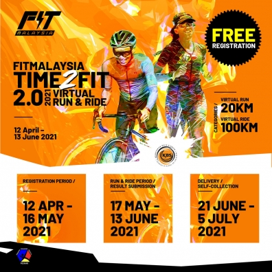 FitMalaysia Time2Fit 2.0 Run & Ride