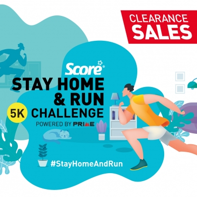 Score® Stay Home & Run Challenge