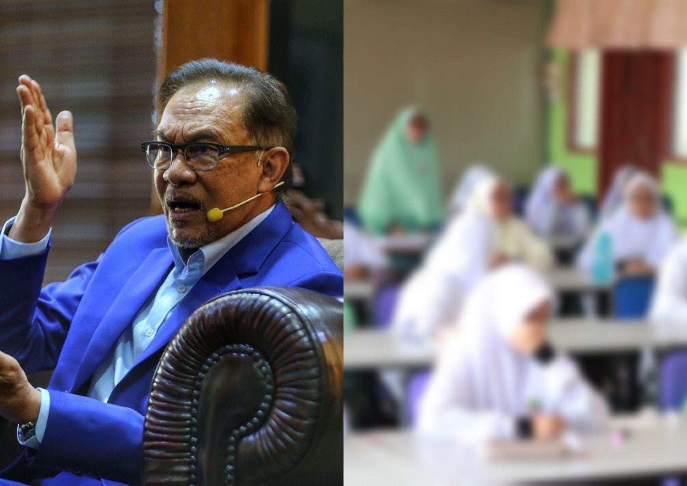Anwar Criticises Period Spot Checks And Calls It Crazy