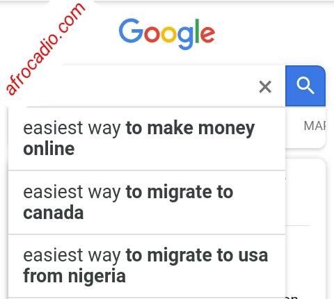 questions Nigerians ask Google: 2nd set