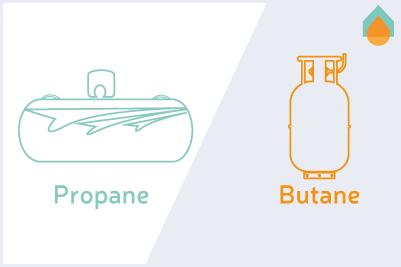 Différence entre propane et butane