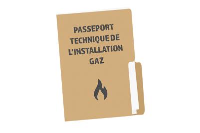 passeport technique gaz