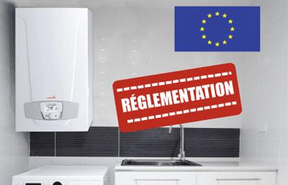 Réglement européen chaudières