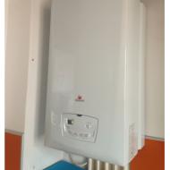 Installation d'une chaudière gaz Saunier Duval