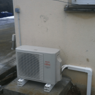 Installation d'une pompe à chaleur en relève