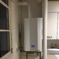 Installation d'une chaudière Frisquet Hydromotrix Condensation