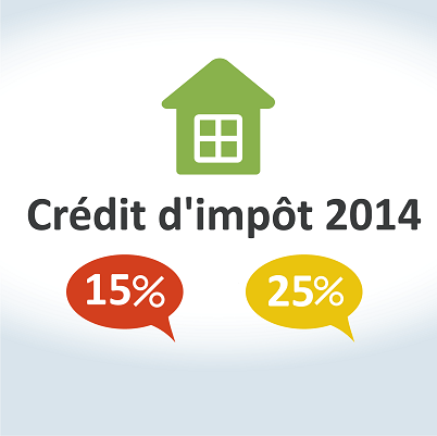 Crédit d'impôt 2014