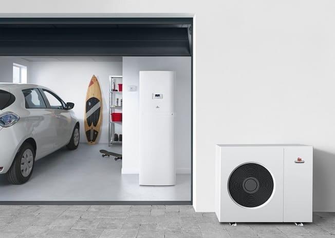 Installer pompe à chaleur dans un garage ou un cellier