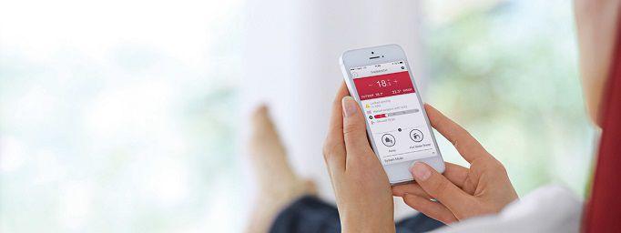 Application MiGO smartphone