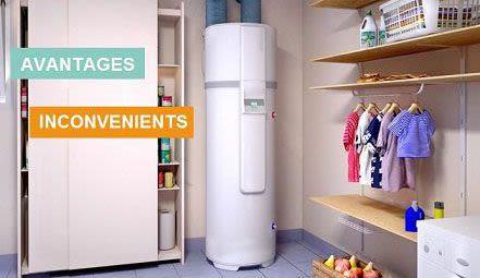 Avantages inconvénients chauffe-eau thermodynamique