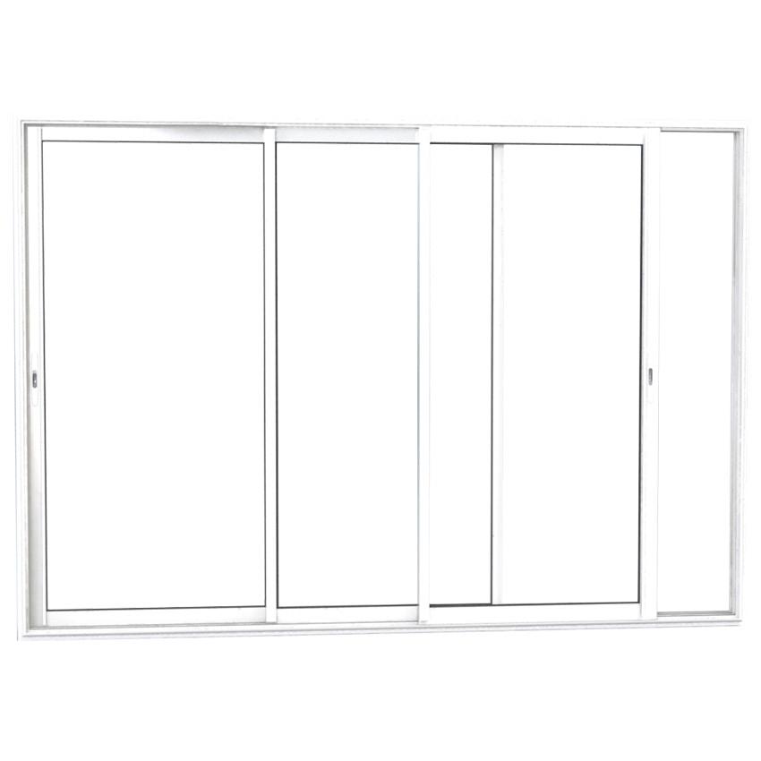 baie vitrée 3 vantaux aluminium