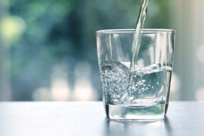 Boire de l'eau adoucie
