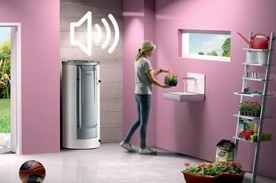 Bruit chauffe-eau thermodynamique en fonctionnement