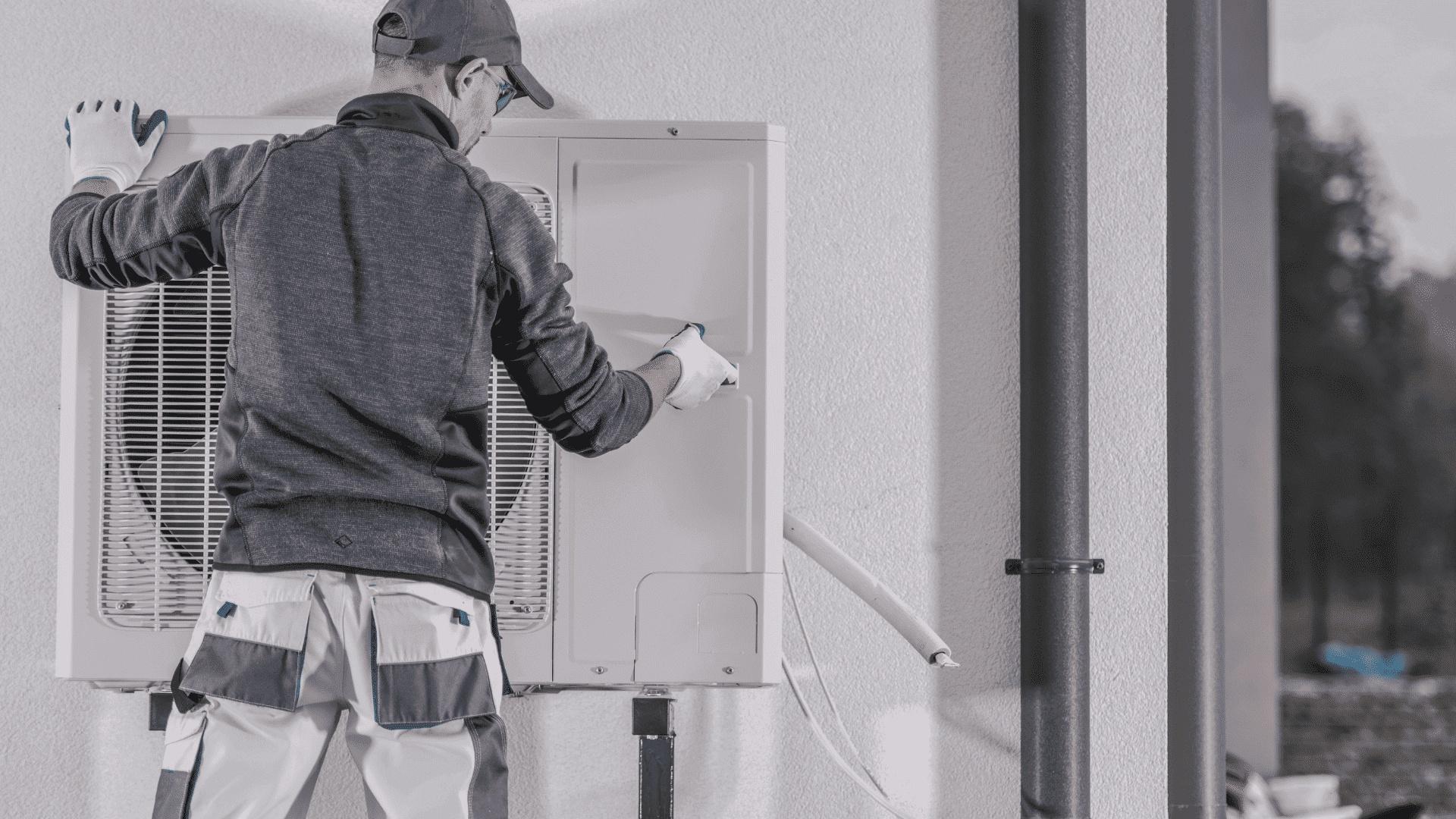 Mise en service pompe à chaleur air eau