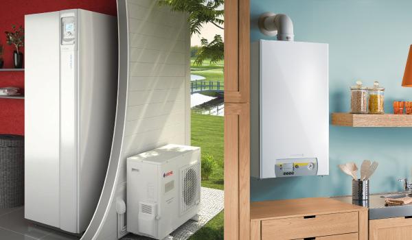 Différence entre pompe à chaleur et chaudière à condensation