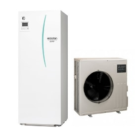 Pompe à chaleur Ecodan Hydrobox Duo Eco Inverter