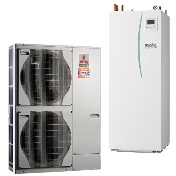 Pompe à chaleur Ecodan Hydrobox Duo Zubadan Package