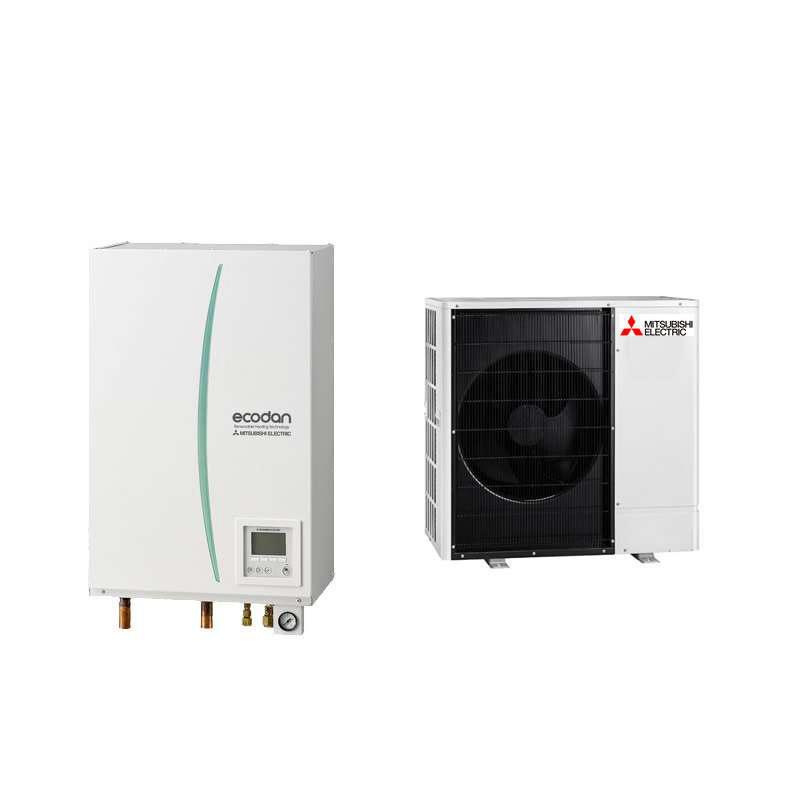 Pompe à chaleur Ecodan Hydrobox Power Inverter Silence Mitsubishi