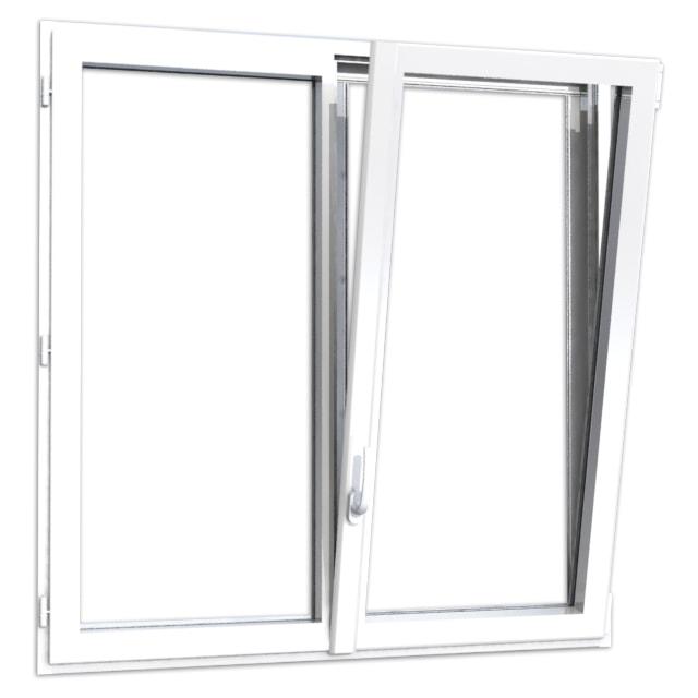 fenetre aluminium 2 vantaux