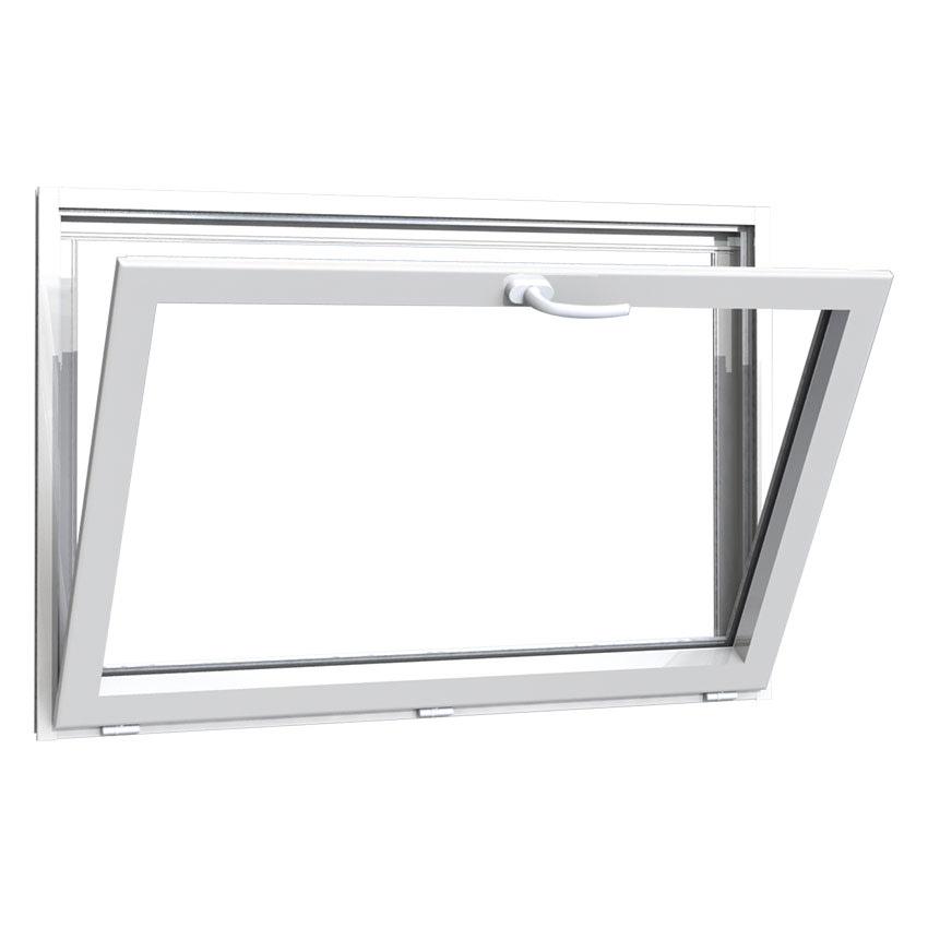 Fenêtre aluminium 1 vantail à soufflet
