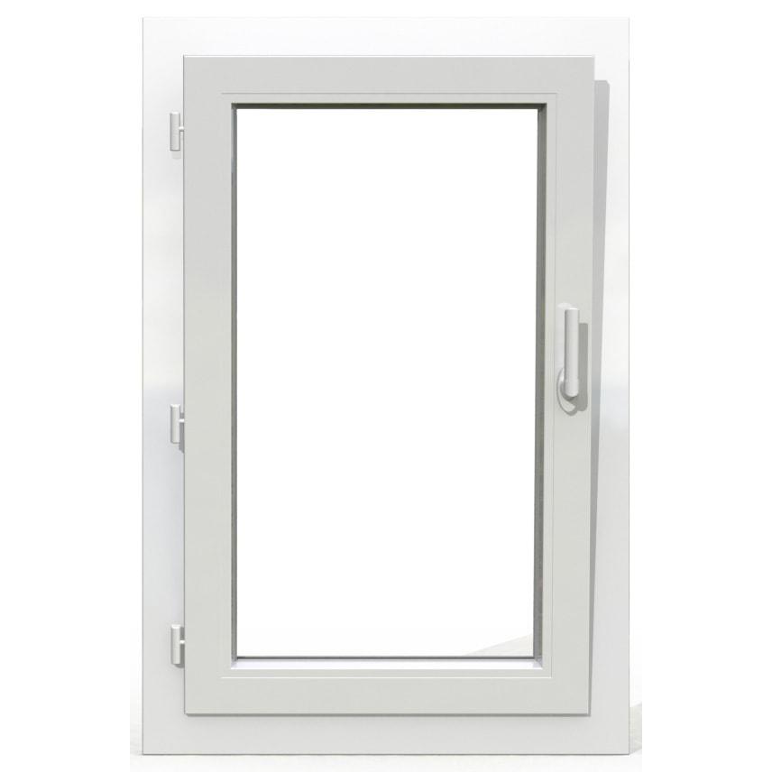 fenêtre 1 vantail pvc oscillo-battante