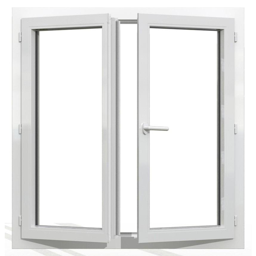 fenêtre battante pvc 2 vantaux
