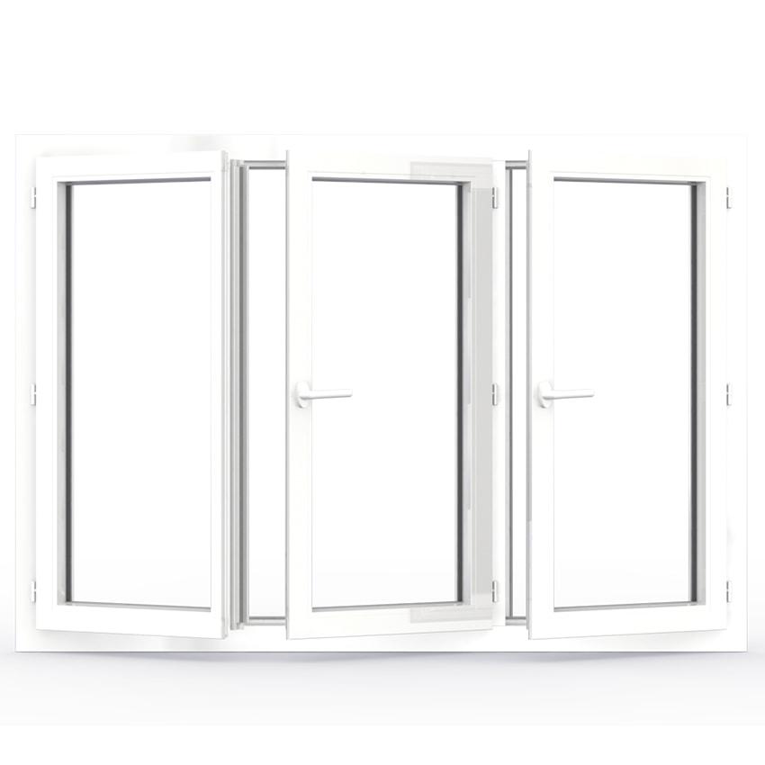 fenêtre battante pvc 3 vantaux