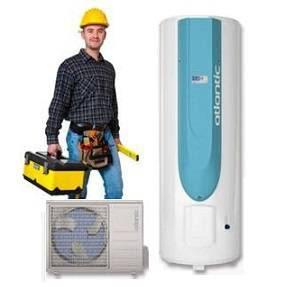 Installation chauffe eau thermodynamique split