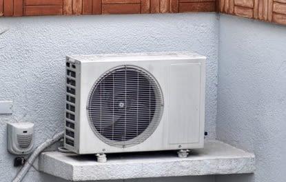 Installation pompe à chaleur dans un appartement