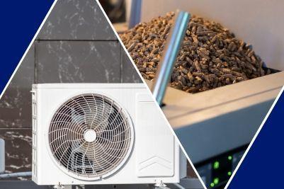 Pompe à chaleur ou chaudière à granulés