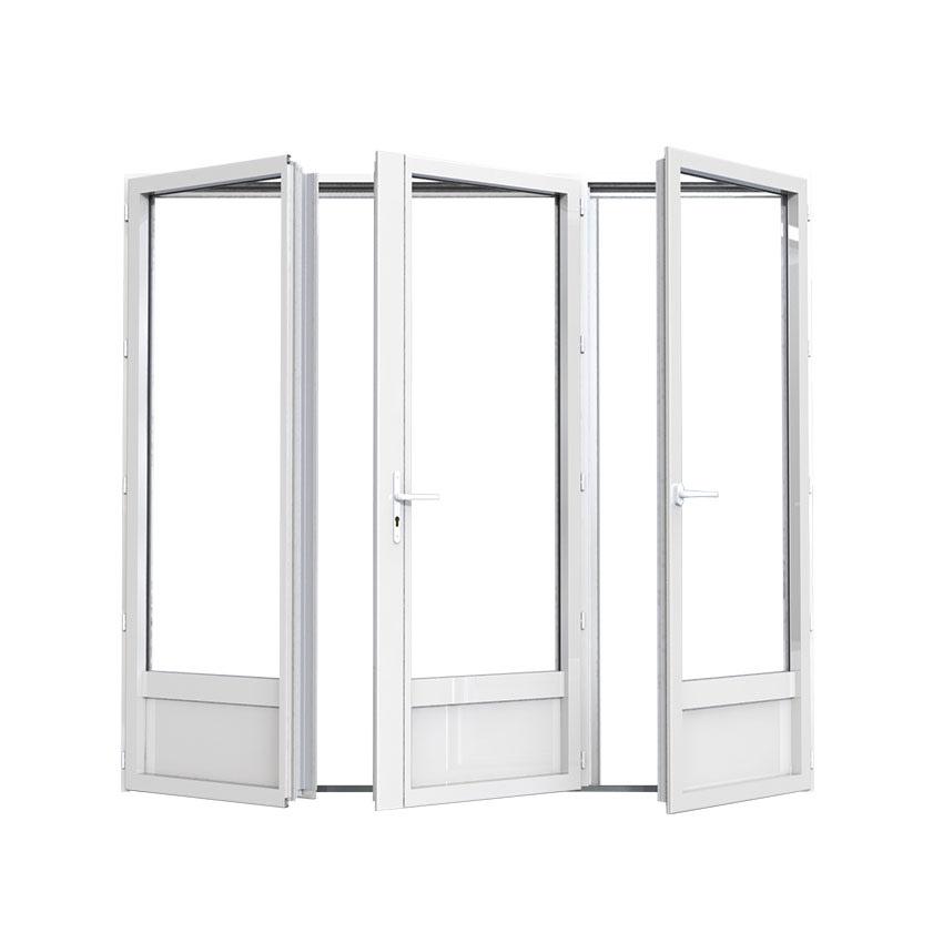 porte-fenêtre en aluminium 3 vantaux