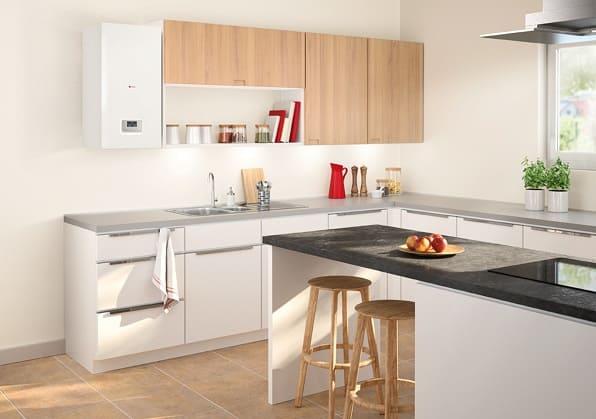 Installer une chaudière dans une cuisine