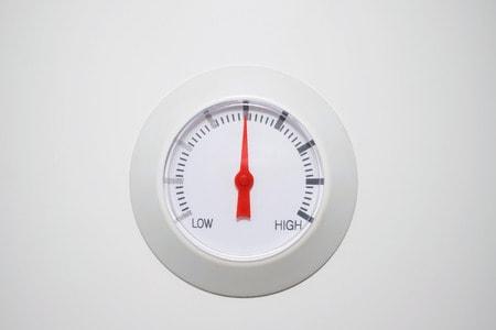 pression eau chaudiere