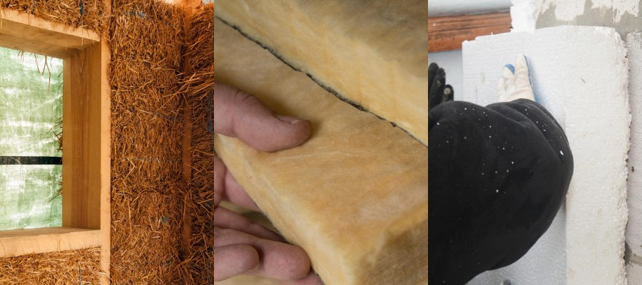 Les différents types d'isolants thermiques