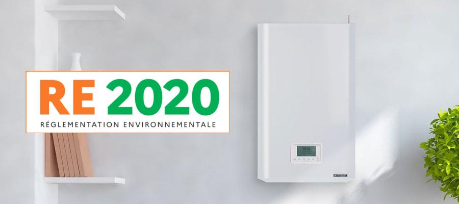 chaudière gaz dans l'habitat neuf et la RE 2020