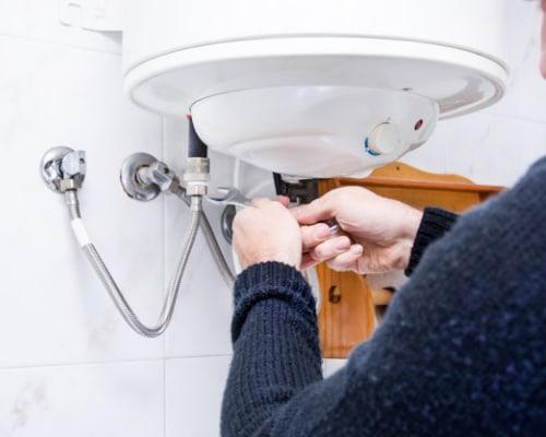 Installation d'un chauffe-eau électrique