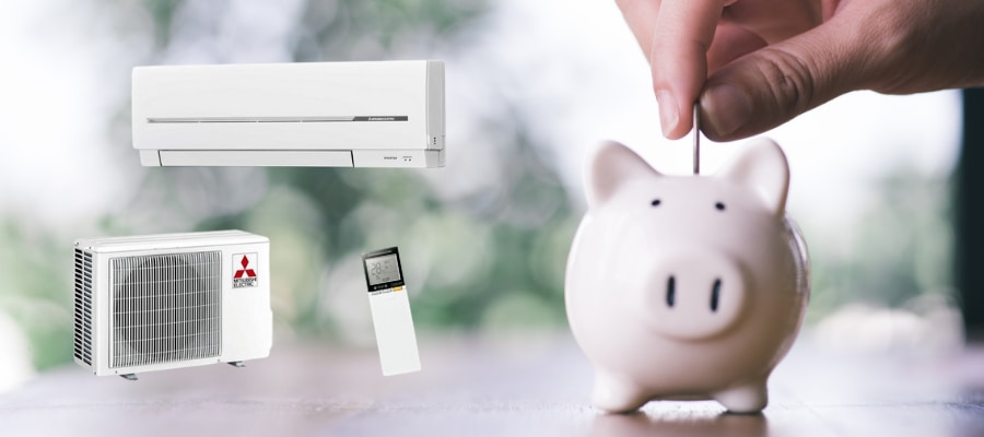 climatisation réversible et économies