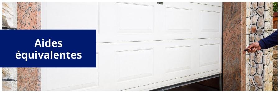 Aides changement portes de garage