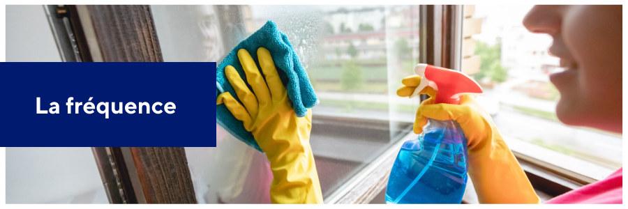 fréquence d'entretien de fenêtres