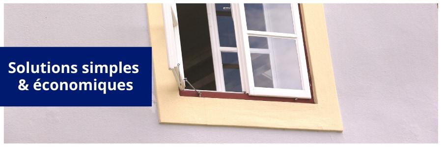 isolation d'une fenêtre simple vitrage