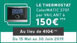Thermostat calorMATIC 370f par Vaillant 150 euros
