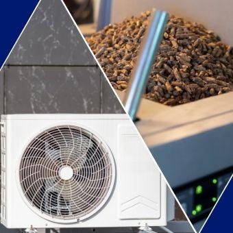 Pompe à chaleur ou chaudière à granulés comparatif