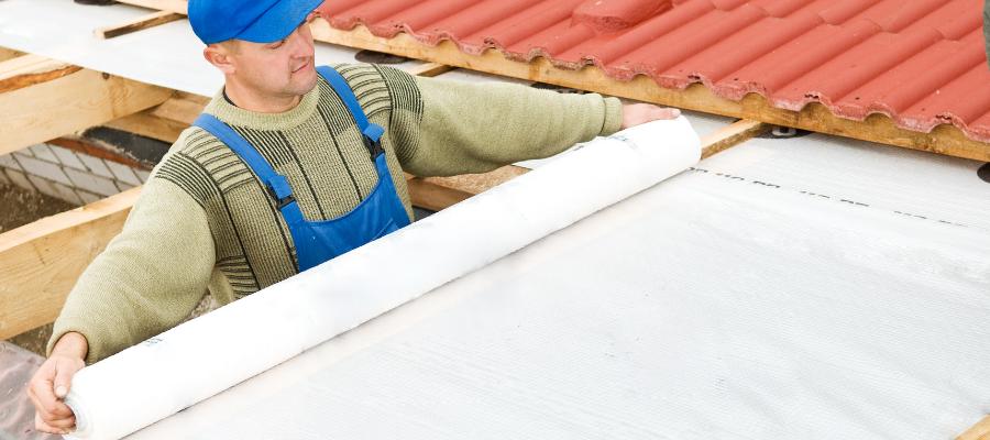 isolation toiture avec écran de protection