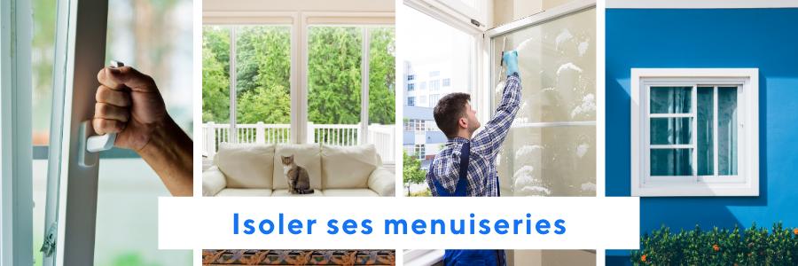 Surface à isoler : les fenêtres