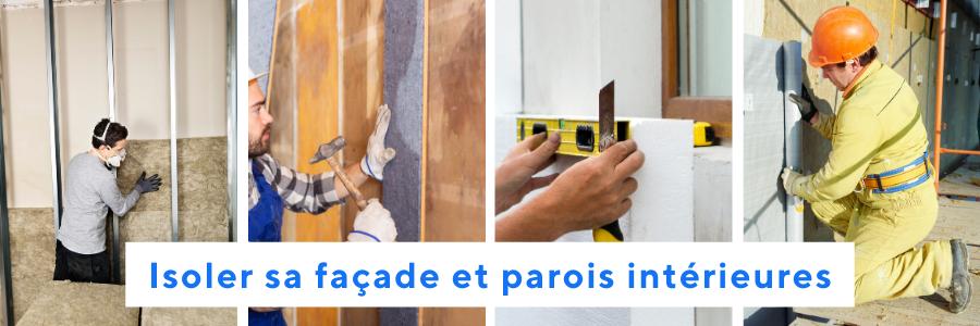 Surfaces à isoler : murs par l'intérieur ou par l'extérieur